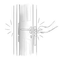 Безотказность работы всех устройств двери