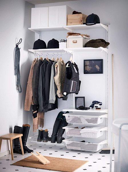 Система хранения с ящиками-сеткой