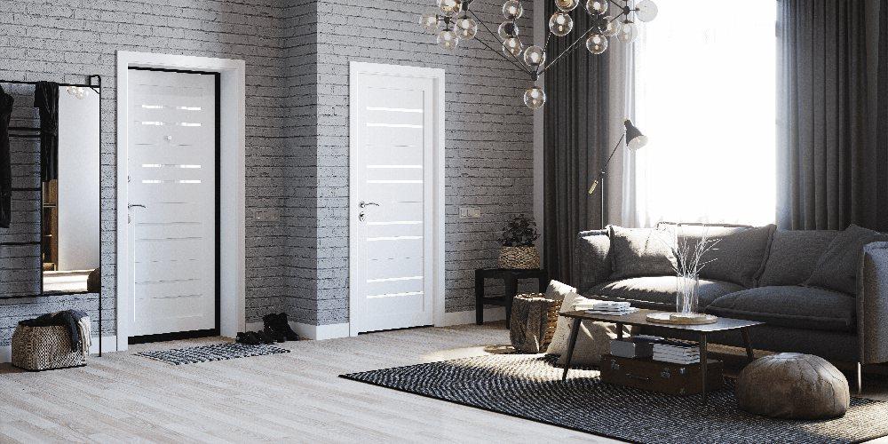 Сочетание входной двери с межкомнатной (Bafa + Torex)