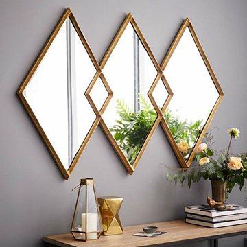 Идея декора зеркалами