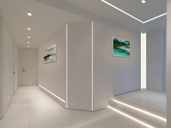Светодиодная лента на стенах