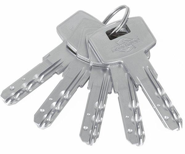 Ключ цилиндрового замка