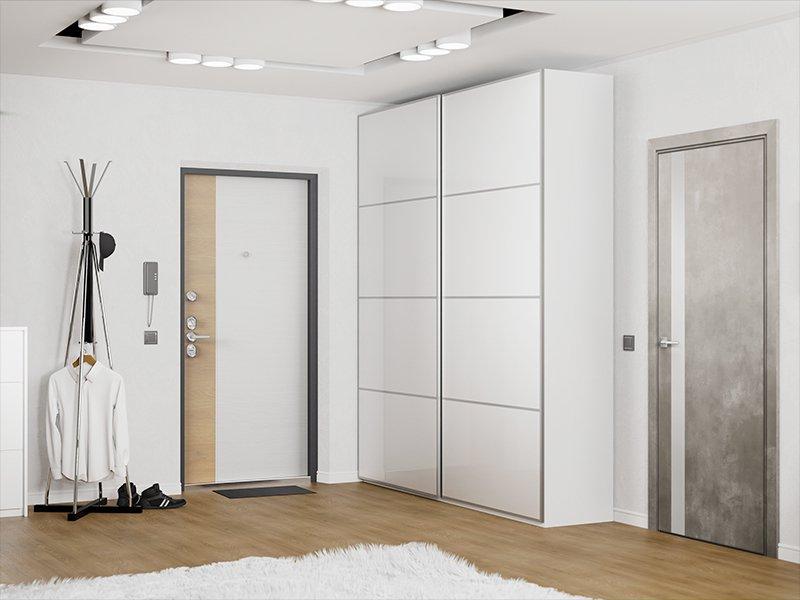 Входная дверь в минимализм