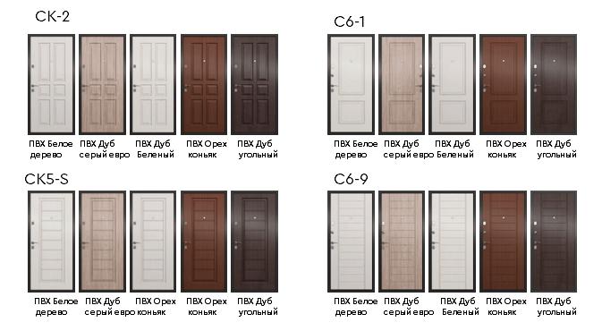 Двери Х-серии